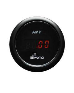 Ampèremètre digital ø52mm Wéma