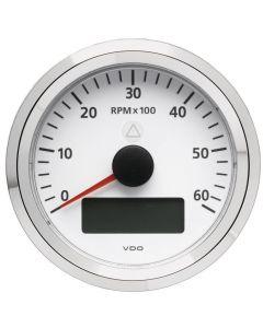Compte-tours avec afficheur numérique Ø85 mm