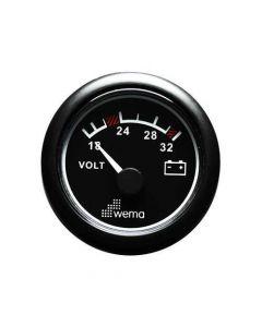 Voltmètre à aiguille ø52mm