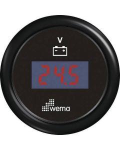 Voltmètre digital ø52mm