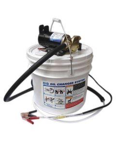 Pompe de vidange huile électrique + réservoir