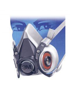 """Masque 3M™ 6200 """" demi-masque """""""