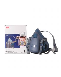 """Masque 3M™ 7500 """" demi masque """" Silicone"""