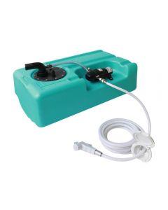 Kit réservoir eau douce + pompe et douchette
