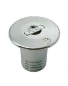 Nable carburant - fuel - levier à bascule - laiton chromé - ø50x72mm