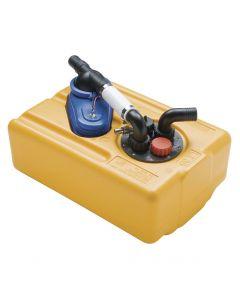 Réservoir rigide eau douce - 53L + pompe 12V - 19 L/min
