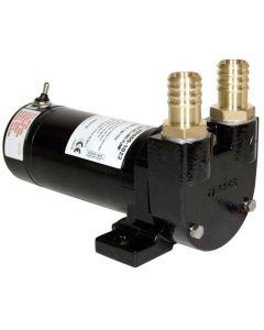 Pompe de transfert diesel 50L/min - 24V + interrupteur et raccords ø25mm