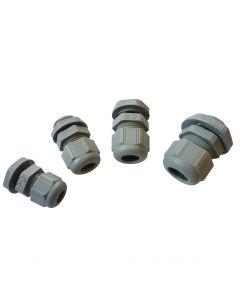 Presse étoupe plastic equipé ø14/18mm