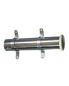 STAINLESS STEEL POLE HOLDER WITH CAP