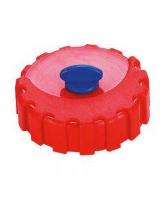 Bouchon rouge pour trappe BO2150 sur réservoir essence plastique