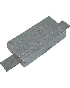 Anode zinc à souder 800g