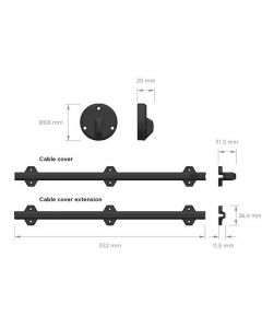 Cable Cover S Kit
