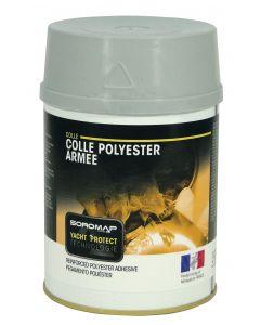 Colle polyester armé 750 ml