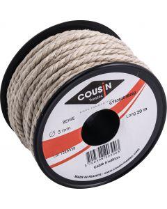 Fil câblé tradition Ø 3 mm - bobine 20 m