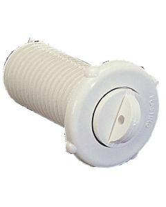 Nable plastique à vis + joint Ø 27 mm