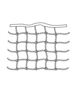 Filet de filière mailles carrées nouées (livraison domicile)