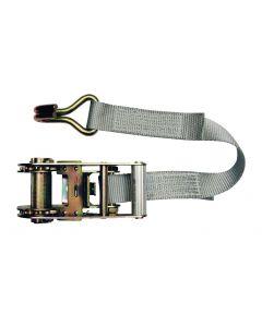 Sangle d'amarrage à cliquet modèle en 2 parties 35mm, L : 6m, R : 2500Kg