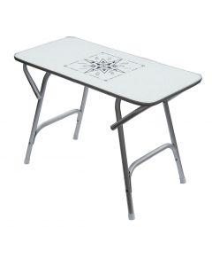 Table pliante rectangulaire  88 x 60, H : 61 cm