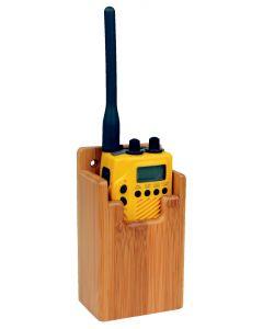 Accessoires d'intérieur en Bambou Support GPS et VHF 90 x 140 x 45 mm