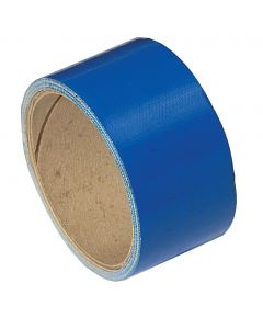 Adhesivo de tela azul