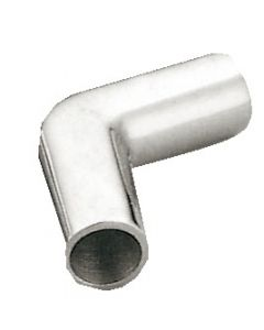 Inox elbow 90° for biminis and hoods