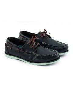 Chaussures Crew Cuir Marron Homme