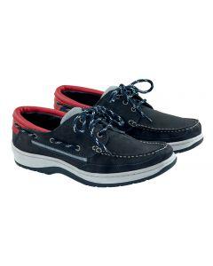 Chaussures Sport Nubuck Marine Homme