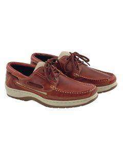 Chaussures Sport Cuir Marron Homme