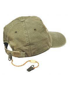 Cordon d'attache pour casquette