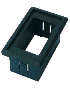 Support interrupteur étanche plastique simple