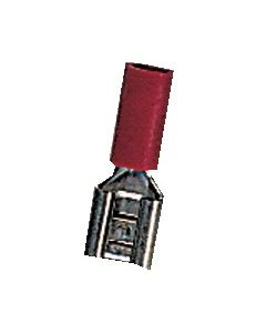 Clip pré-isolé couleur rouge