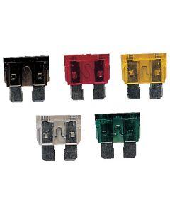 Fusibles enfichables 6 à 32 V Taille standard - 6.35 mm