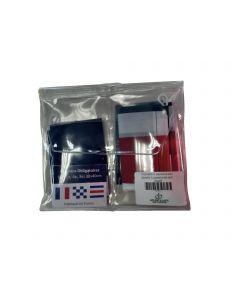3 flag pocket wallet