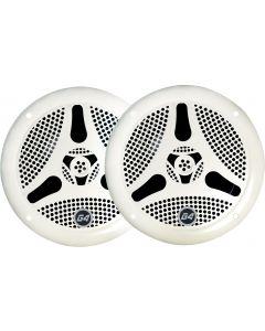 Haut-parleurs Bluetooth Maître blanc. Paire