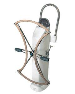 Barre à roue pliante avec double moyeu