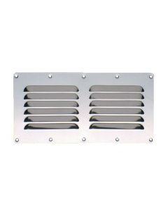 Stainless steel rectangular grill