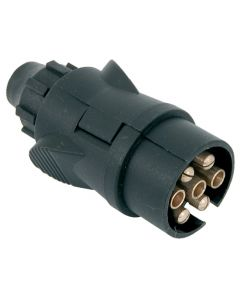 Socket ABS 12V 7 pin male