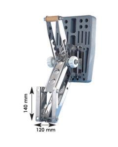 Chaise articulée inox  Moteur < 30 kg,