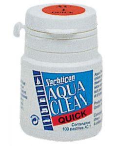 Désinfectant Aqua Clean en boîte de 100 pastilles