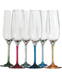 Flûte à champagne Party 6 pièces