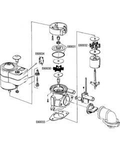 Joint soupape pour pompe électrique RM 69