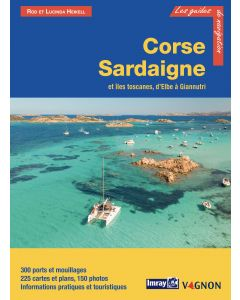 Guide Imray Français Corse, Sardaigne et Iles Toscanes