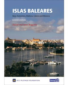 Guía Imray Mediterráneo Mediterranean Spain Islas Baleares