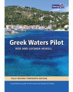 Guía Imray Greek Waters Pilot