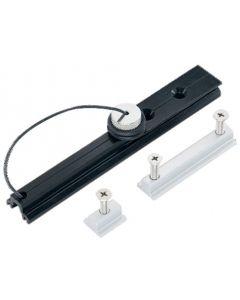Screw stops kit for flat groove