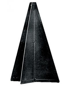 Cône noir pliant