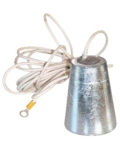 Anode aluminium à pendre