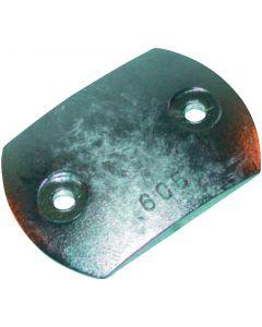 Ánodo compatible motor RENAULT-NANNI Placa timón