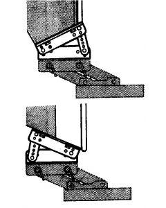 Chaise articulée alu Adaptateur tableau incliné
