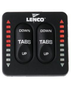 Flaps électriques Commutateur double Version à leds